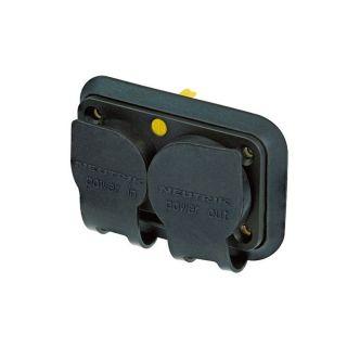 2 Neutrik SCNAC-PX - Cappuccio protettivo per connettore duplex NAC3PX(-TOP) powerCON TRUE1
