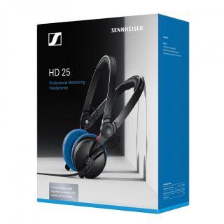 Sennheiser HD25 Blu - Cuffie Monitor per DJ Chiuse LTD03