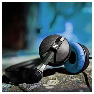 Sennheiser HD25 Blu - Cuffie Monitor per DJ Chiuse LTD04