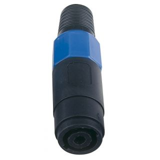 0 DAP-Audio - 4p. Speaker Connector Female - Cappuccio finale blu, femmina