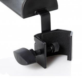 Bespeco SH130C Supporto per Cuffia con Aggancio per Asta Microfonica