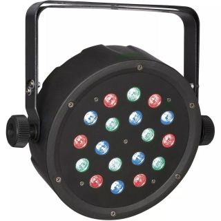 8 x Showtec Club Par 18/1 RGB - Club Par LED RGB02