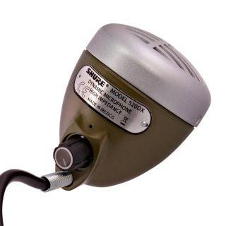 Shure 520DX Green Bullet - Microfono a Bocca per Armonica04