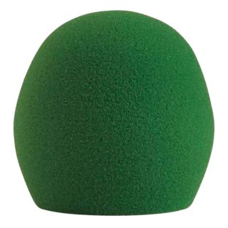 Shure A58WS Green - Spugna Acustica Antivento Verde per PGA48 PGA58 SM48 SM58 Beta58A e 565SD