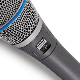 Shure Beta 87A - Microfono a Condensatore Supercardioide per Voce05