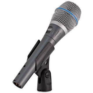 Shure Beta 87A - Microfono a Condensatore Supercardioide per Voce07