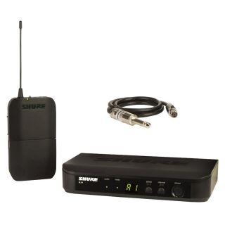 Shure BLX14E T11 - Sistema Wireless Trasmettitore e Ricevitore per Chitarra / Basso