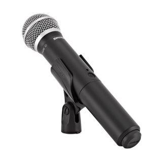 Shure BLX24E/PG58 M17 - Radiomicrofono Palmare con Capsula PG5804