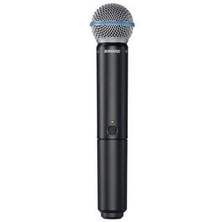 Shure BLX24RE/B58 - Radiomicrofono Palmare con Capsula Beta 58A04