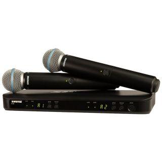 Shure BLX288E/B58 T11 - Radiomicrofono con Doppio Beta58