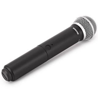 Shure BLX288E/PG58 M17 - Radiomicrofono Doppio Palmare UHF06
