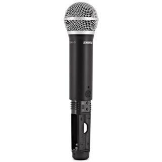 Shure BLX288E/PG58 M17 - Radiomicrofono Doppio Palmare UHF09