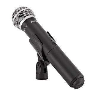 Shure BLX288E/PG58 M17 - Radiomicrofono Doppio Palmare UHF08