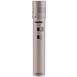 Shure KSM137/SL - Microfono per Strumenti a Condensatore Professionale Champagne02