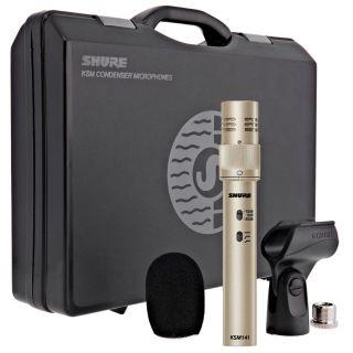 Shure KSM141/SL - Microfono per Strumenti a Condensatore Professionale Champagne
