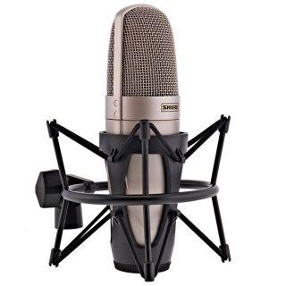 Shure KSM32/SL - Microfono a Condensatore Cardioide Professionale Champagne04
