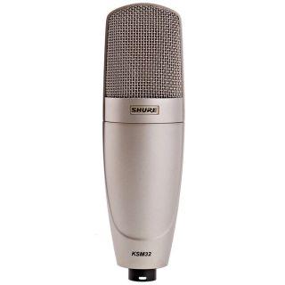 Shure KSM32/SL - Microfono a Condensatore Cardioide Professionale Champagne02