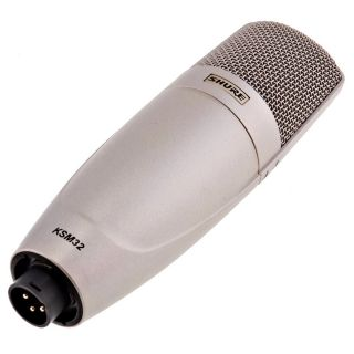Shure KSM32/SL - Microfono a Condensatore Cardioide Professionale Champagne05