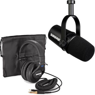 Shure Motiv MV7 bundle SRH440