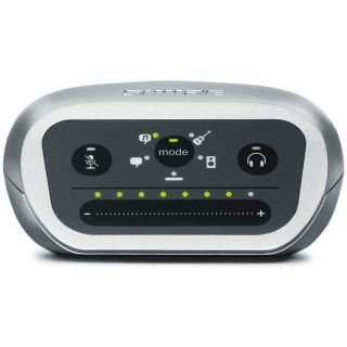 Shure Motiv MVi - Interfaccia Audio Digitale USB per Mac PC iPhone iPod iPad