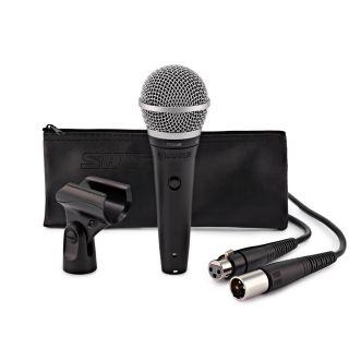Shure PGA48 XLR - Microfono Dinamico Cardioide per Voce con Cavo XLR