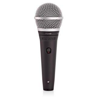 Shure PGA48 XLR - Microfono Dinamico Cardioide per Voce con Cavo XLR02