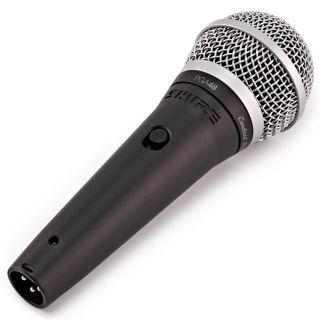 Shure PGA48 XLR - Microfono Dinamico Cardioide per Voce con Cavo XLR04