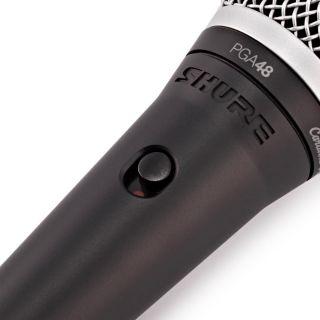 Shure PGA48 XLR - Microfono Dinamico Cardioide per Voce con Cavo XLR06