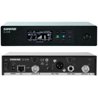 Shure QLXD24E/Beta 87C G51 - Radiomicrofono Sistema Microfonico Wireless Senza Fili UHF con Trasmettitore Palmare03