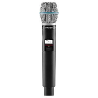 Shure QLXD24E/Beta 87C G51 - Radiomicrofono Sistema Microfonico Wireless Senza Fili UHF con Trasmettitore Palmare02
