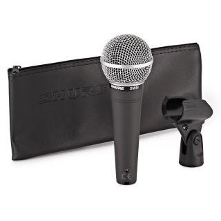 Shure SM48 - Microfono Dinamico Cardioide per Voce02
