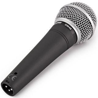 Shure SM48 - Microfono Dinamico Cardioide per Voce05