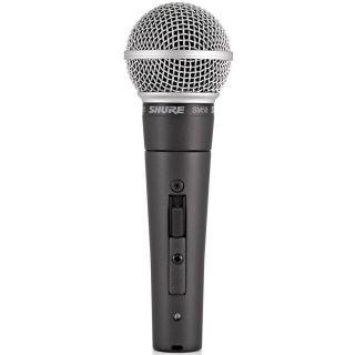 Shure SM58SE - Microfono Dinamico Cardioide per Canto con Interruttore02