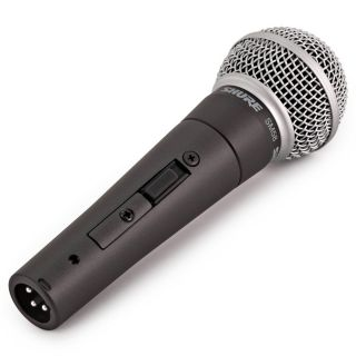 Shure SM58SE - Microfono Dinamico Cardioide per Canto con Interruttore06