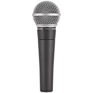 Shure SM58SE - Microfono Dinamico Cardioide per Canto con Interruttore03