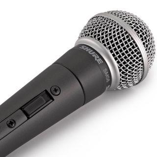 Shure SM58SE - Microfono Dinamico Cardioide per Canto con Interruttore07