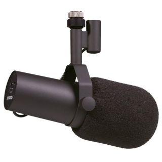 Shure SM7B - Microfono per Radio Televisione Studio Podcasting Broadcasting05