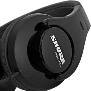 Shure SRH240A - Cuffie Professionali HiFi per Mp3 e Musica05