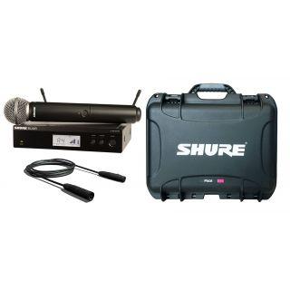 SHURE Pack Radiomicrofono con Capsula SM58 / Case / Cavo Audio XLR/XLR Bundle