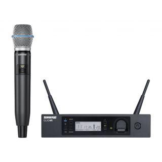 SHURE GLXD24RE/B87A - Radiomicrofono Digitale Professionale / Palmare