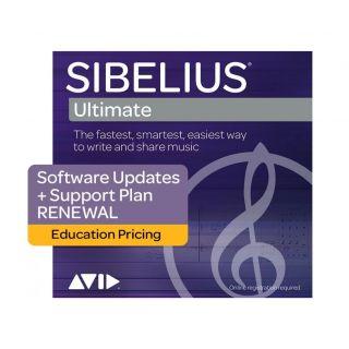 Avid Sibelius Ultimate 1 Year Software Updates + Reinstatement Plan Edu (Card)