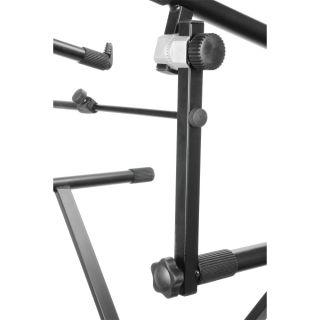 2 Adam Hall Stands SKS 024 - Estensione per Supporto Tastiera