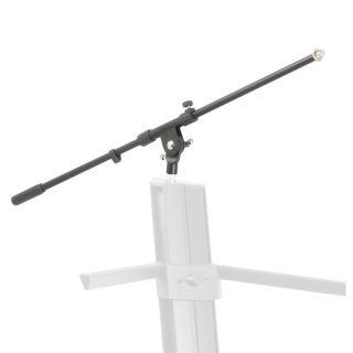 0 Adam Hall Stands SKS 22 MB - Braccio Orientabile per Supporto per Tastiera a 2 Posti estraibile