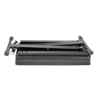3 Adam Hall Stands SKT 17 - Banco tastiera ripiegabile con imbottitura ultraspessa