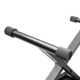 5 Adam Hall Stands SKT 17 - Banco tastiera ripiegabile con imbottitura ultraspessa