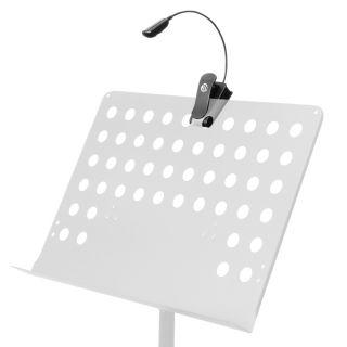7 Adam Hall Stands SLED 1 PRO - Lampada a LED per leggio