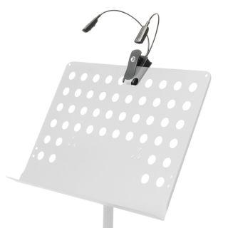 8 Adam Hall Stands SLED 2 PRO - Lampada a LED per leggio
