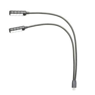 0 Adam Hall Stands SLED 2 ULTRA USB - Lampada a collo di cigno LED con collegamento USB