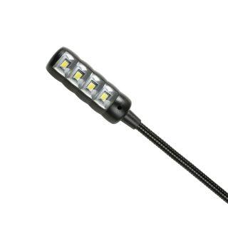 3 Adam Hall Stands SLED 2 ULTRA USB - Lampada a collo di cigno LED con collegamento USB