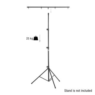 1 Adam Hall Stands SLS 6 CB - Barra trasversale con perno TV da 17 mm per supporti per luci